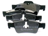 0044204420 Jurid Brake Pad Set; Rear