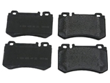 0044204920OE Genuine Mercedes Brake Pad Set; Rear