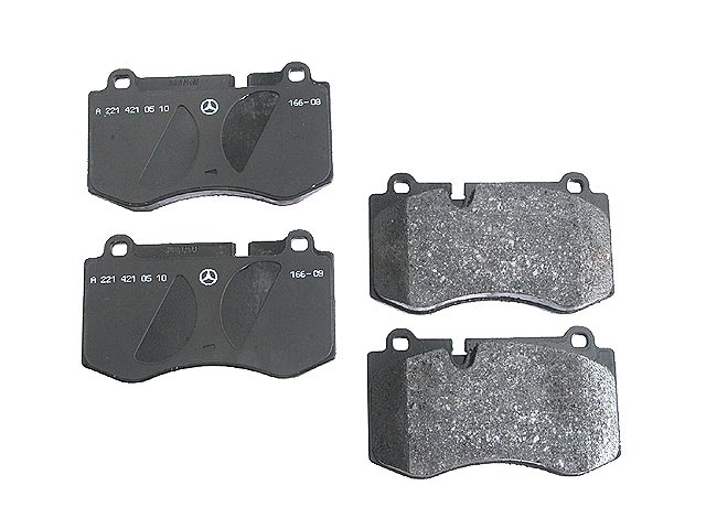 0044208020OE Genuine Mercedes Brake Pad Set; Front