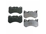 0044208920OE Genuine Mercedes Brake Pad Set; Front, OE Compound