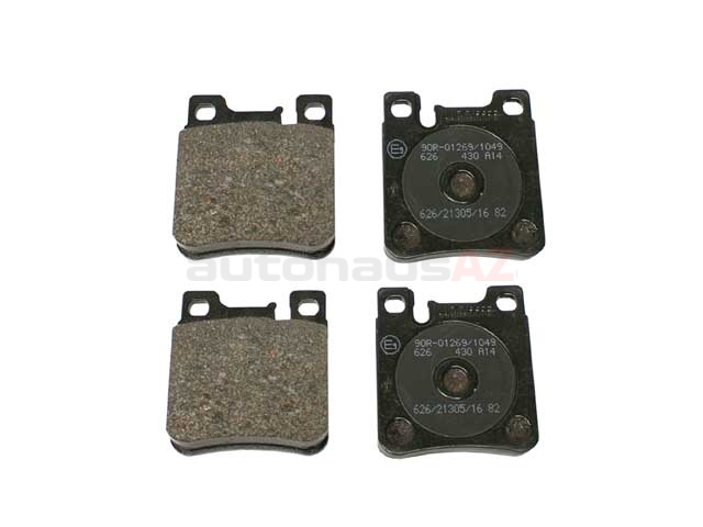 0044209320 Jurid Brake Pad Set; Rear with Sensor Slot