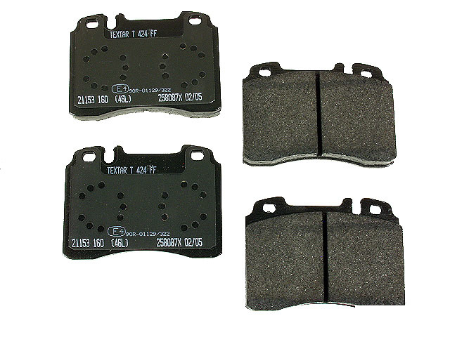 0054200220 Textar Brake Pad Set; Front; OE Compound