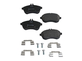 0054201220 Pagid Brake Pad Set; Front; OE Compound