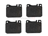 0054204520 Genuine Mercedes Brake Pad Set; Front