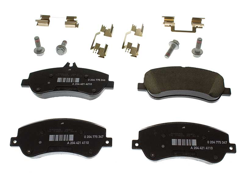 0054206320 Genuine Mercedes Brake Pad Set; Front