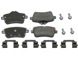 0064203420 Genuine Mercedes Brake Pad Set; Rear