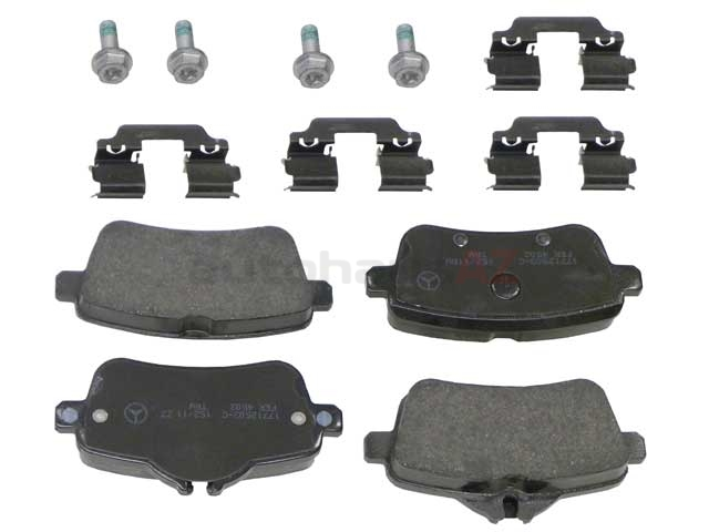 0064204120 Genuine Mercedes Brake Pad Set; Rear