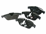 0064206120 Textar Brake Pad Set; Rear; OE Compound