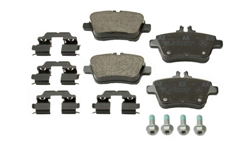 0064208120 Genuine Mercedes Brake Pad Set; Rear