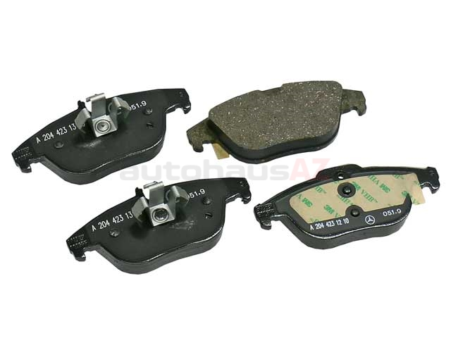 0074206020 Genuine Mercedes Brake Pad Set; Rear
