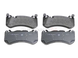 0074206520 Genuine Mercedes Brake Pad Set; Front