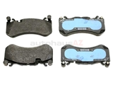 0074207620 Genuine Mercedes Brake Pad Set; Front