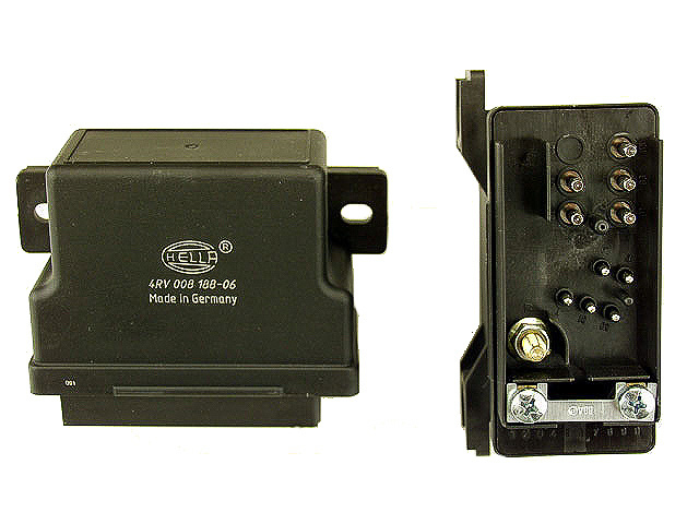 0075459932 Hella Glow Plug Relay/Controller; Preglow Time Relay