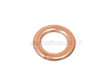 007603-008403 Fischer & Plath Metal Seal Ring / Washer; 8x14x1.5mm; Copper