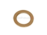 007603-010112 Fischer & Plath Metal Seal Ring / Washer; 10x15x1mm; Copper