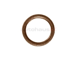 007603-012102 Fischer & Plath Metal Seal Ring / Washer; 12x16x1.5mm; Copper