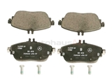 0084200320 Genuine Mercedes Brake Pad Set; Front