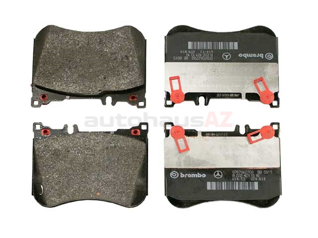 0084200920 Genuine Mercedes Brake Pad Set; Front