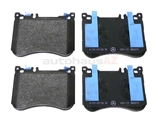 0084203320 Genuine Mercedes Brake Pad Set; Front