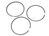021198151 Goetze Piston Ring Set; Standard 81.00mm