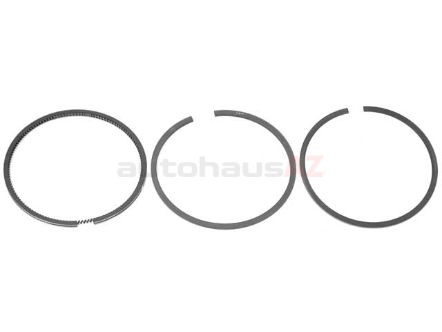 goetze 026198151a piston ring set  standard 81 00mm  with