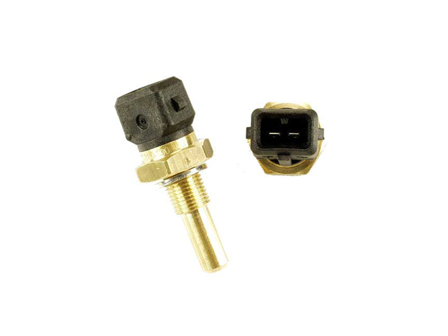 0280130053 Bosch Coolant Temperature Sensor; Black Insulator, 2 Pin FI Connector; 10x1.0mm