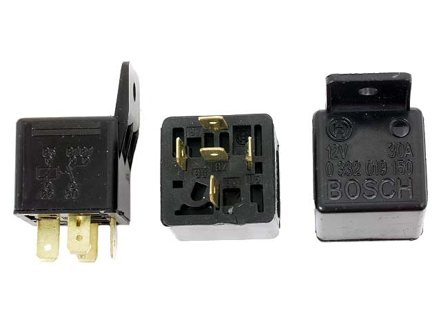 0332019150 Bosch Multi Purpose Relay; Multi-Function Relay with 5 Spade Connector