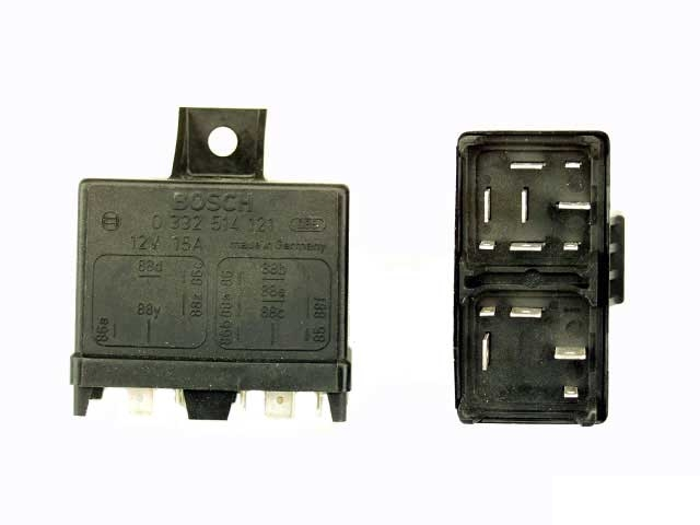 0332514121 Bosch Multi Purpose Relay; With 13 Prong Connections (8 Pin Plug and 5 Pin Plug)