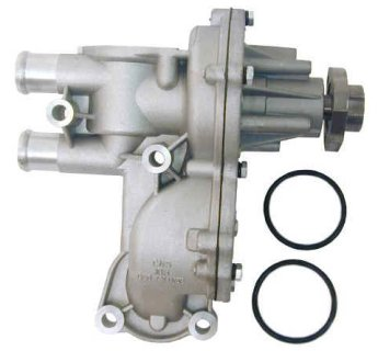 037121010C URO Parts Water Pump; Complete with Housing; 30mm Hub