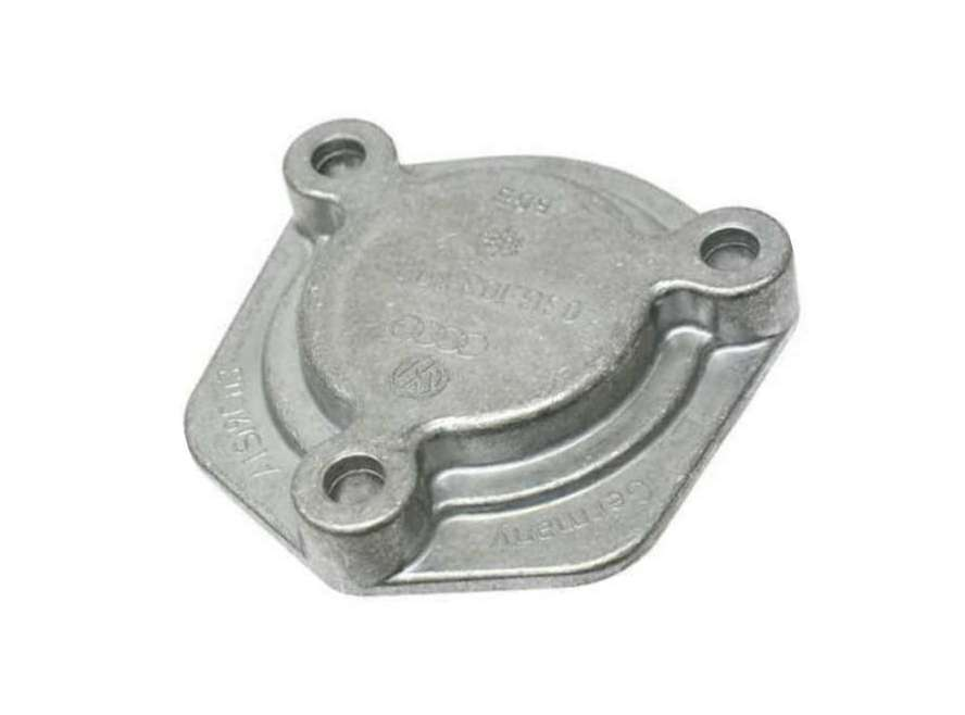 03G103707 Genuine VW/Audi Oil Pan; Cover Plate for Oil Sensor Hole