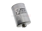 0450905906 Bosch Fuel Filter; 125x75mm; 14mm Inlet x 12mm Outlet