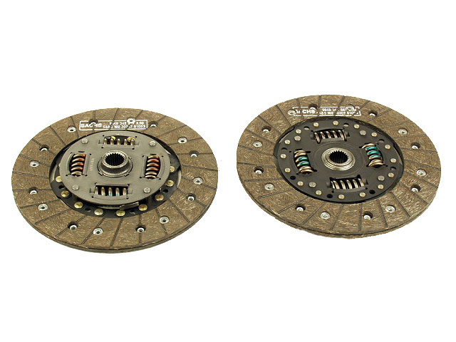 04914103117 Fichtel-Sachs Amortex (Brazilian) Clutch Friction Disc; 210mm Diameter