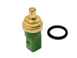 059919501AEL O.E.M. Coolant Temperature Sensor; In Water Pipe; Green with 4 Pin Connector; 20mm Clip In Style