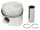 068107081D Kolbenschmidt Piston w/Rings; 2nd Oversize (+0.50mm) 77.00mm; With Rings