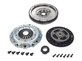 06A105265 Valeo Clutch and Flywheel Kit; Upgrade with New Solid Flywheel