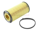 06D115562 Hengst Oil Filter Kit; Cartridge Type with Seal Ring