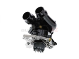 06H121026DD Genuine VW/AUDI Water Pump; Complete Assembly with Housing and Thermostat