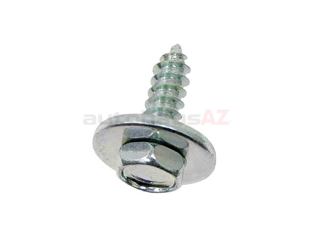 07119901299 BBR Screw; Hex Head Screw with Washer, 4.8x16mm, ZNS-3 Coated
