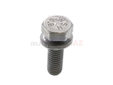07119904527 Genuine BMW Bolt; M6x20 - Z1; With Washer