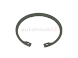 07119934760 Genuine BMW Wheel Bearing Lock Ring; Front; 90x3mm