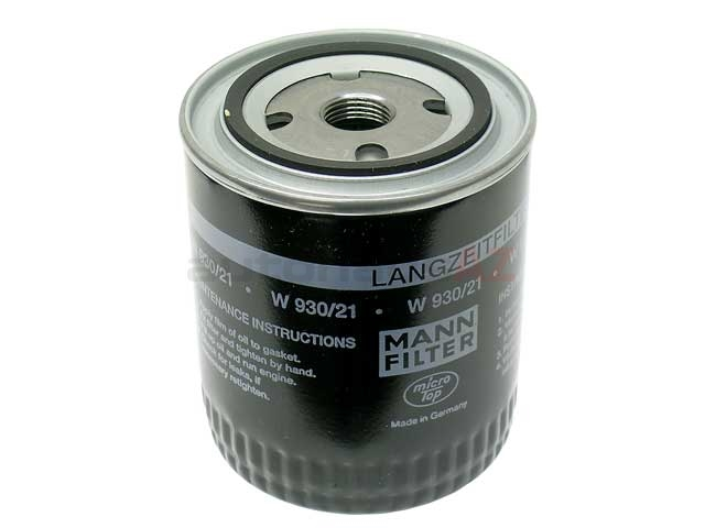 078115561J Mann Oil Filter; Long-Life Version