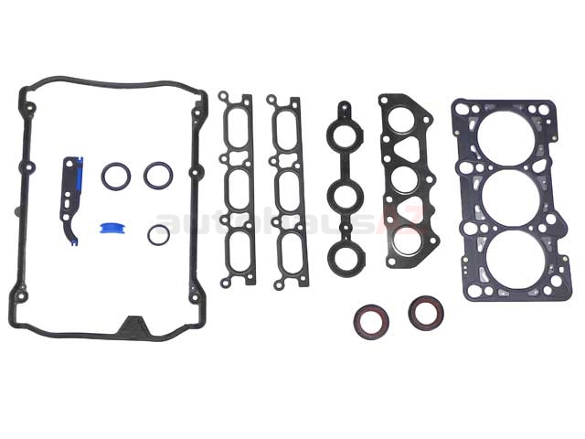 078198012E VictorReinz Cylinder Head Gasket Set; Without Valve Stem Seals