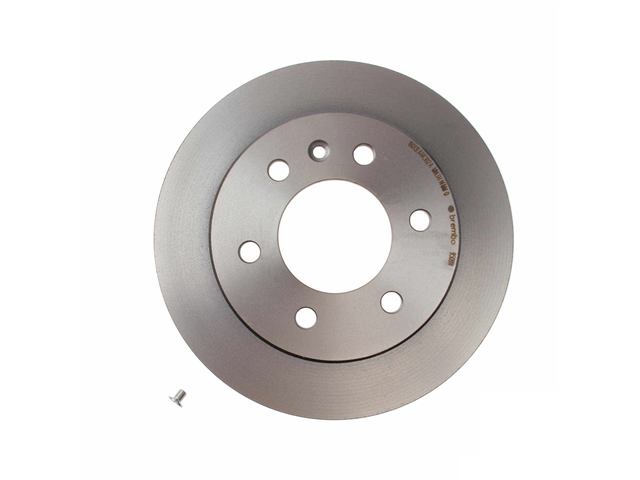 08950911 Brembo Disc Brake Rotor; Rear