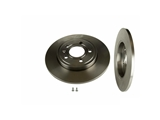 08997511 Brembo Disc Brake Rotor; Rear