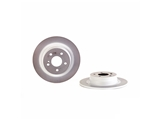 08A61241 Brembo Disc Brake Rotor; Rear; Solid
