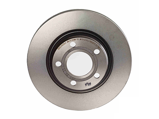 09719611 Brembo Disc Brake Rotor; Rear