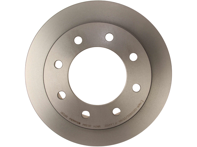 09881281 Brembo Disc Brake Rotor; Rear