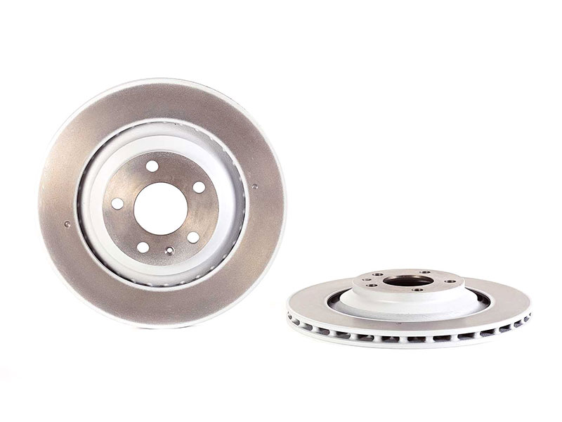 09884221 Brembo Disc Brake Rotor; Rear; Vented 330x22mm