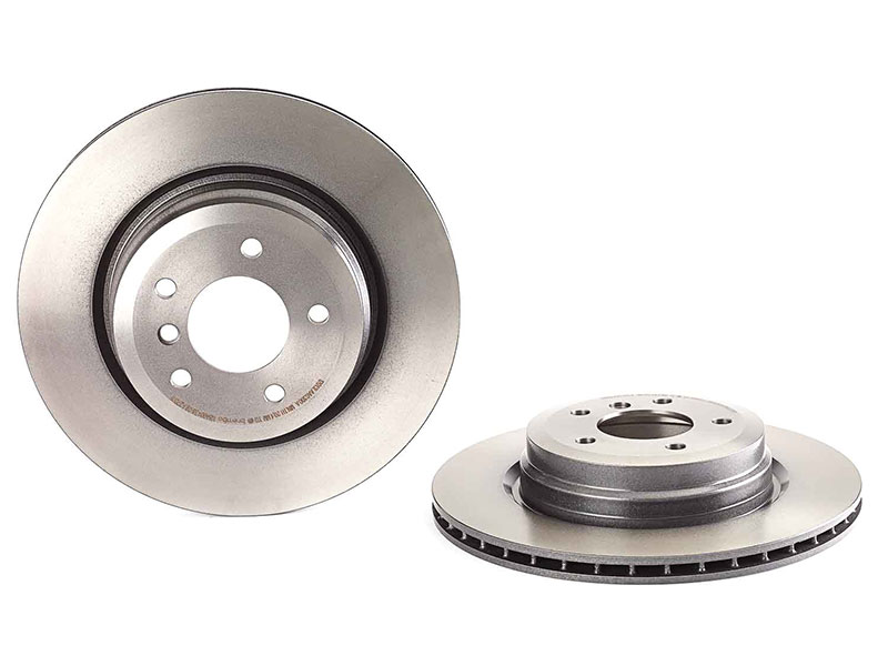 09A27011 Brembo Disc Brake Rotor; Rear; 336x22mm