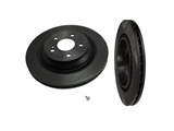 09A81811 Brembo Disc Brake Rotor; Rear; Vented